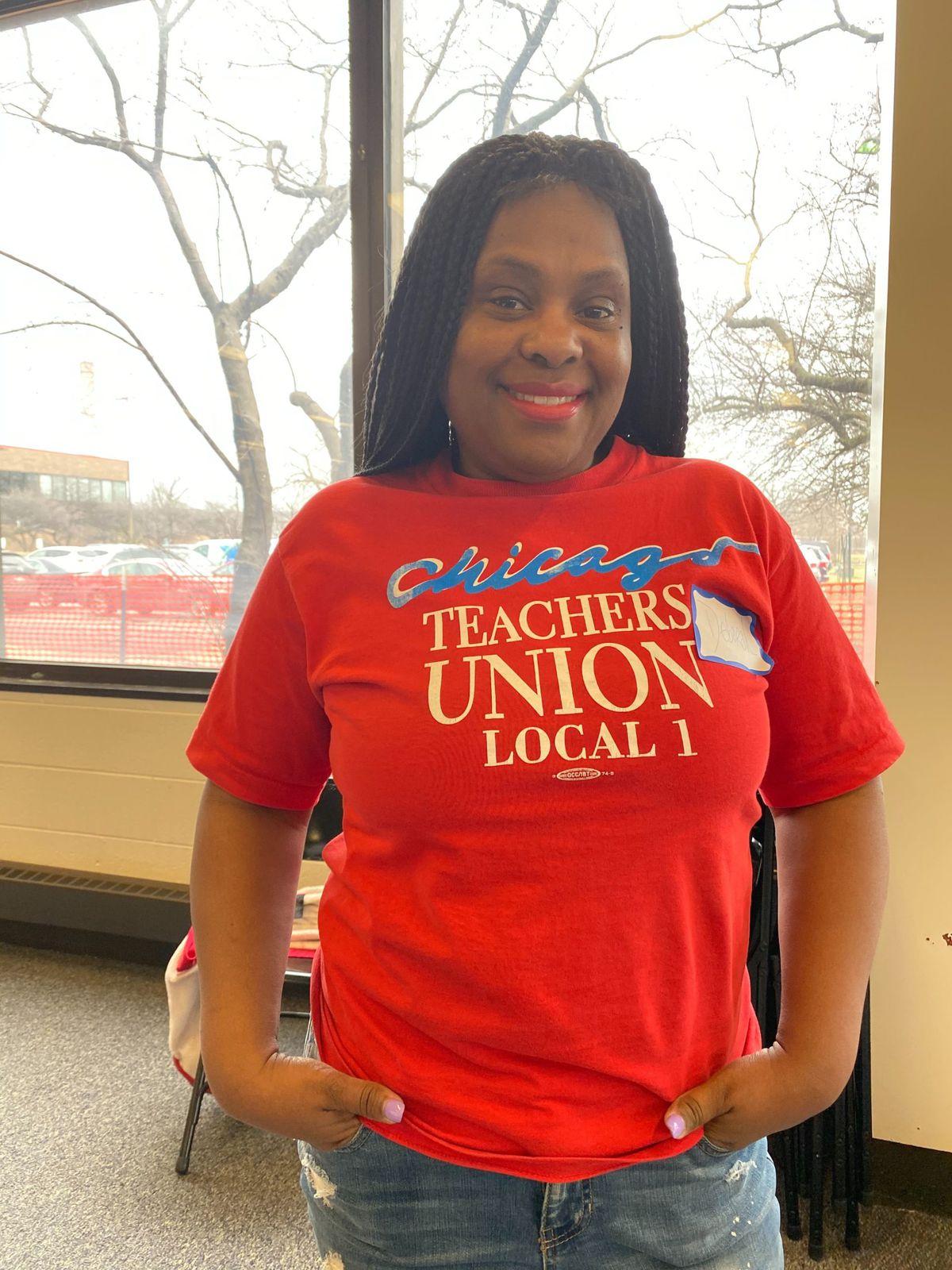 Deborah Riddel is a special education teacher at Charles W. Earle Stem Academy.