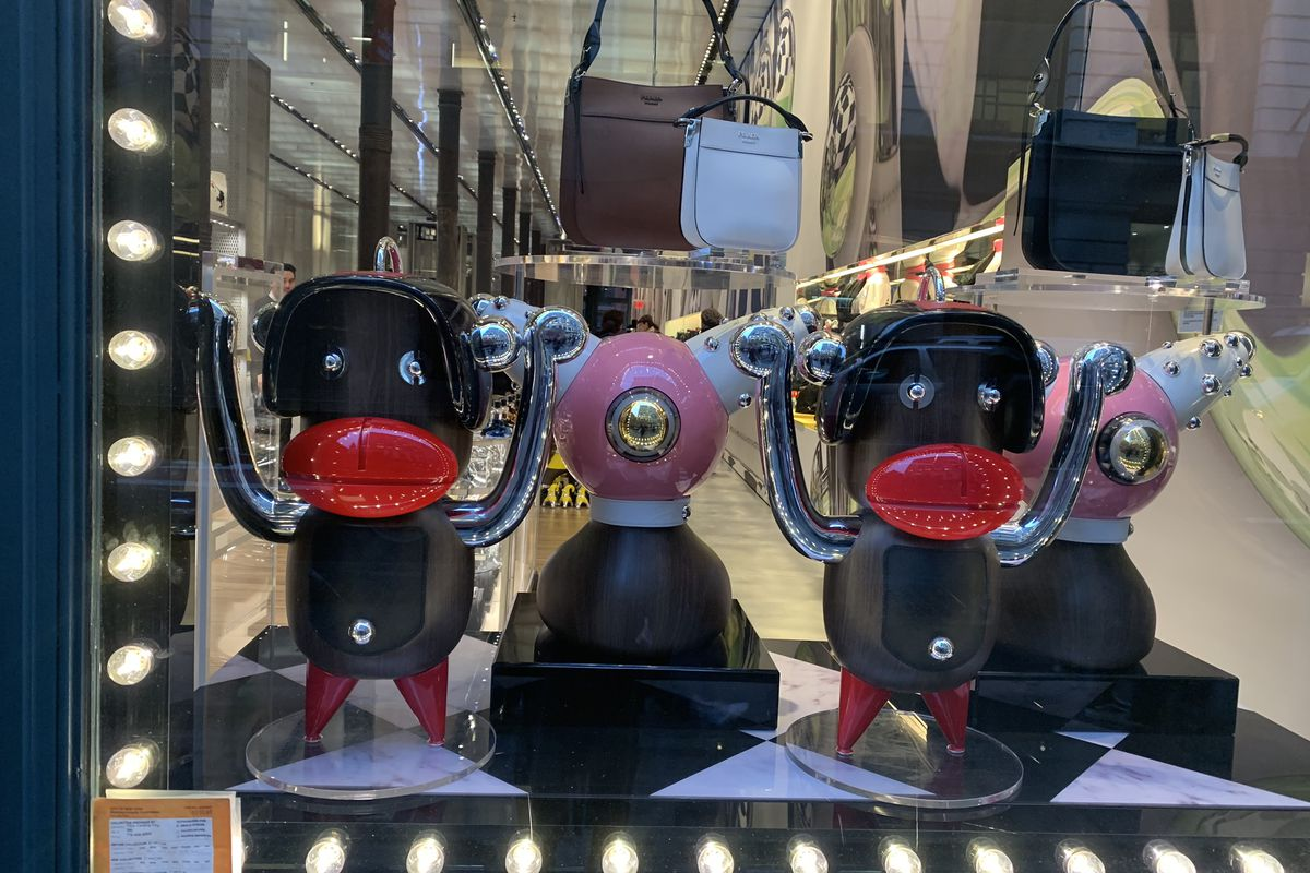 A group of Prada figurines have been compared to racist caricatures.