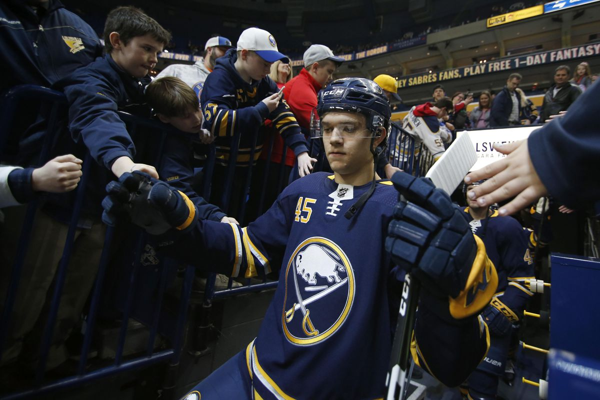 Sabres prospects challenge roster filled with top level prospects ... c9b1f6e7a