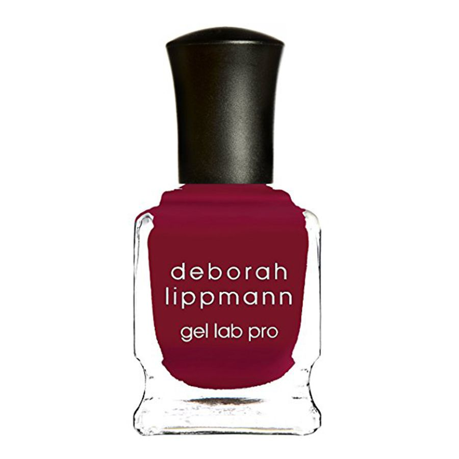 A berry red nail polish from Deborah Lippmann