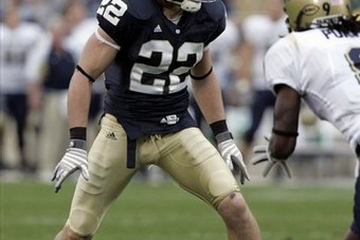Scouting The Draft Harrison Smith Safety Notre Dame Gang Green