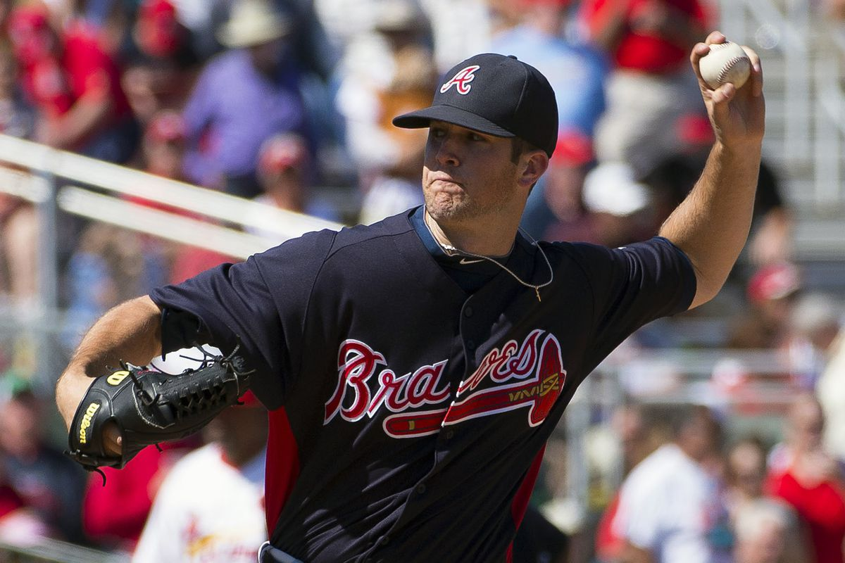Lefty Alex Wood made quite the impression on the Atlanta Braves brass this spring.