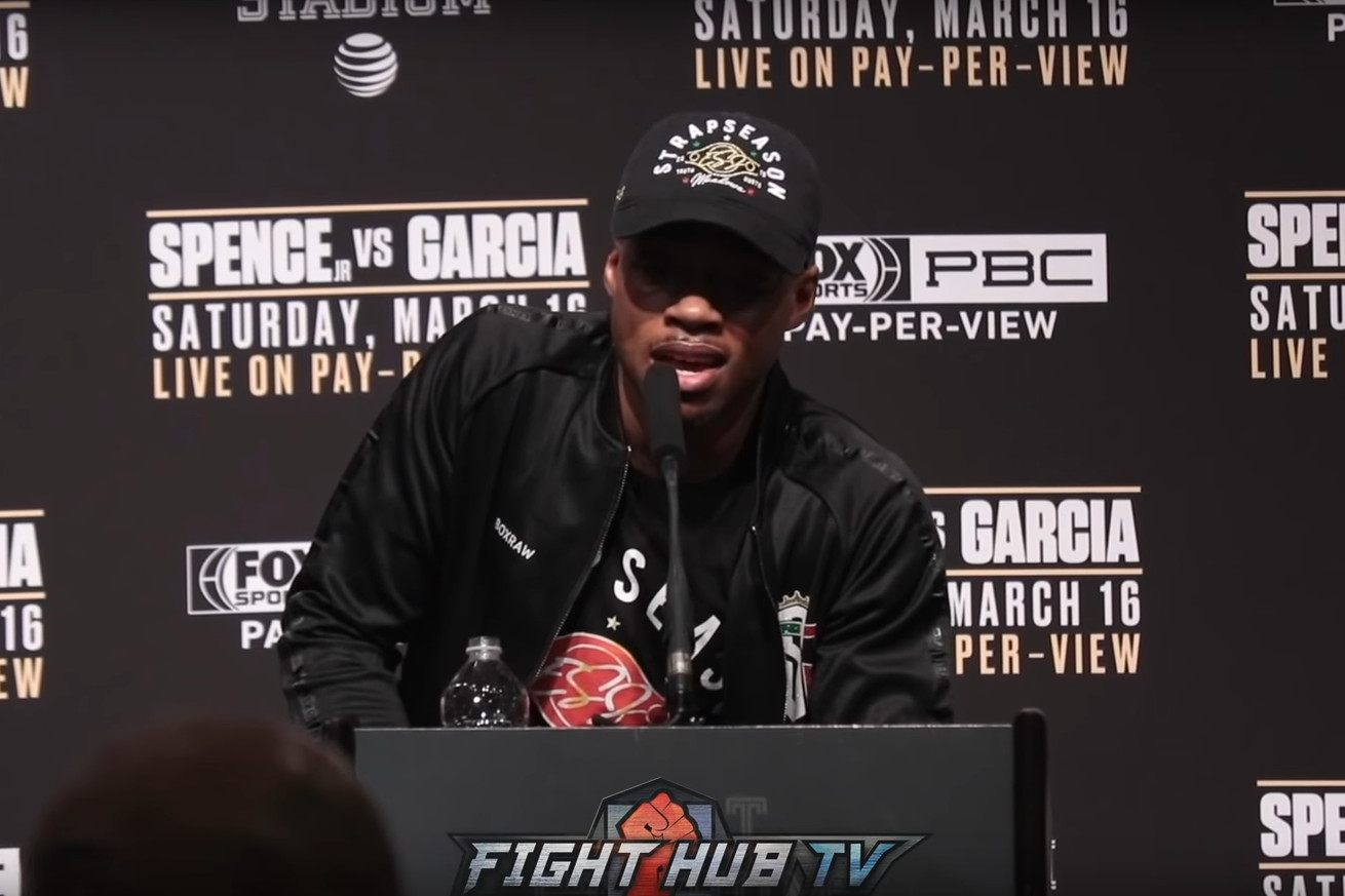 Screen Shot 2019 03 18 at 10.31.52 AM.0 - Errol Spence's Post-Fight Press Conference