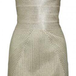 Herve Leger strapless bandage dress, $420 (orig. $2,800)