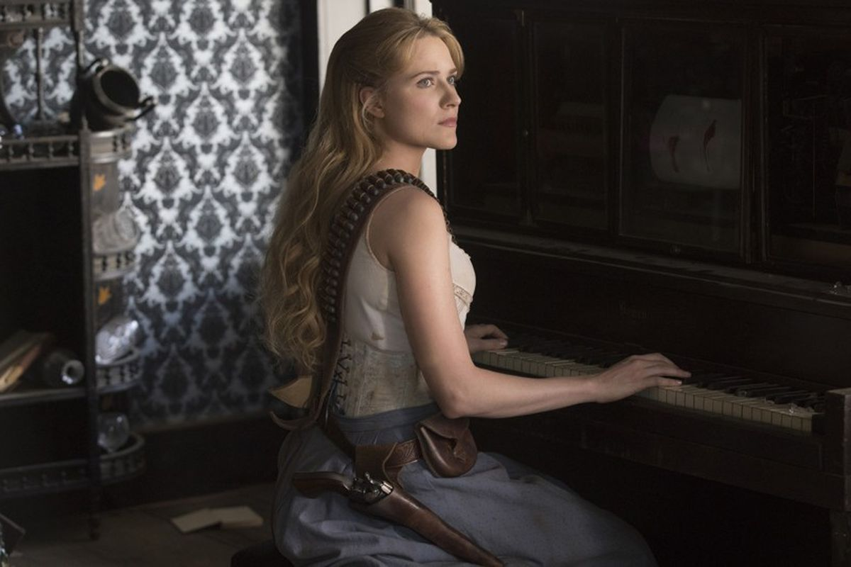 Dolores in 'Westworld'