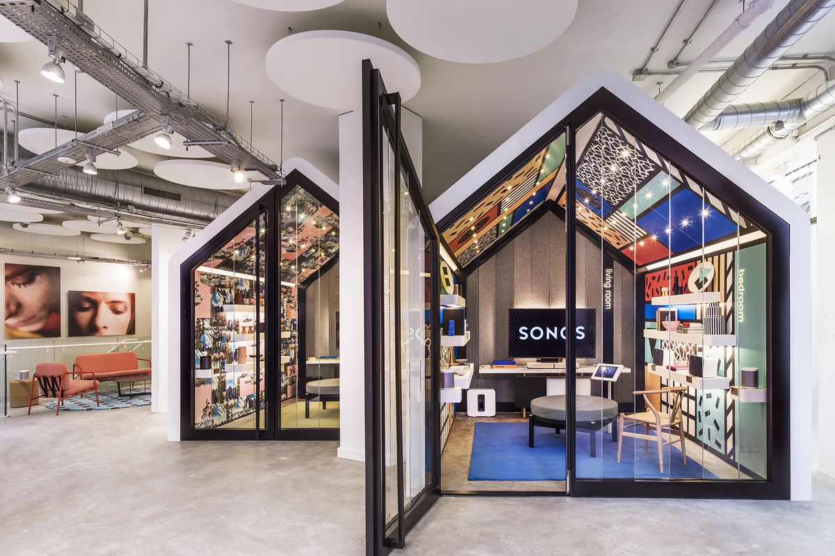 New Sonos store in London