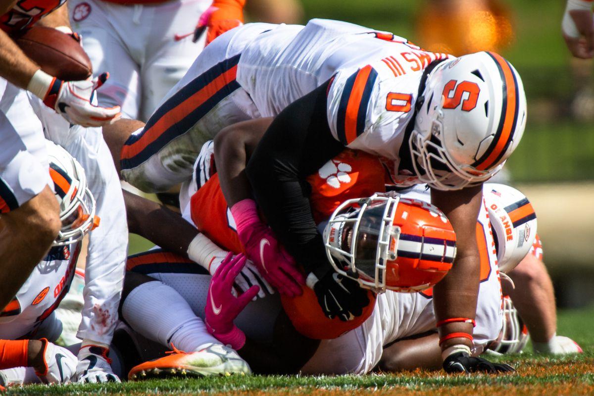 NCAA Football: Syracuse at Clemson
