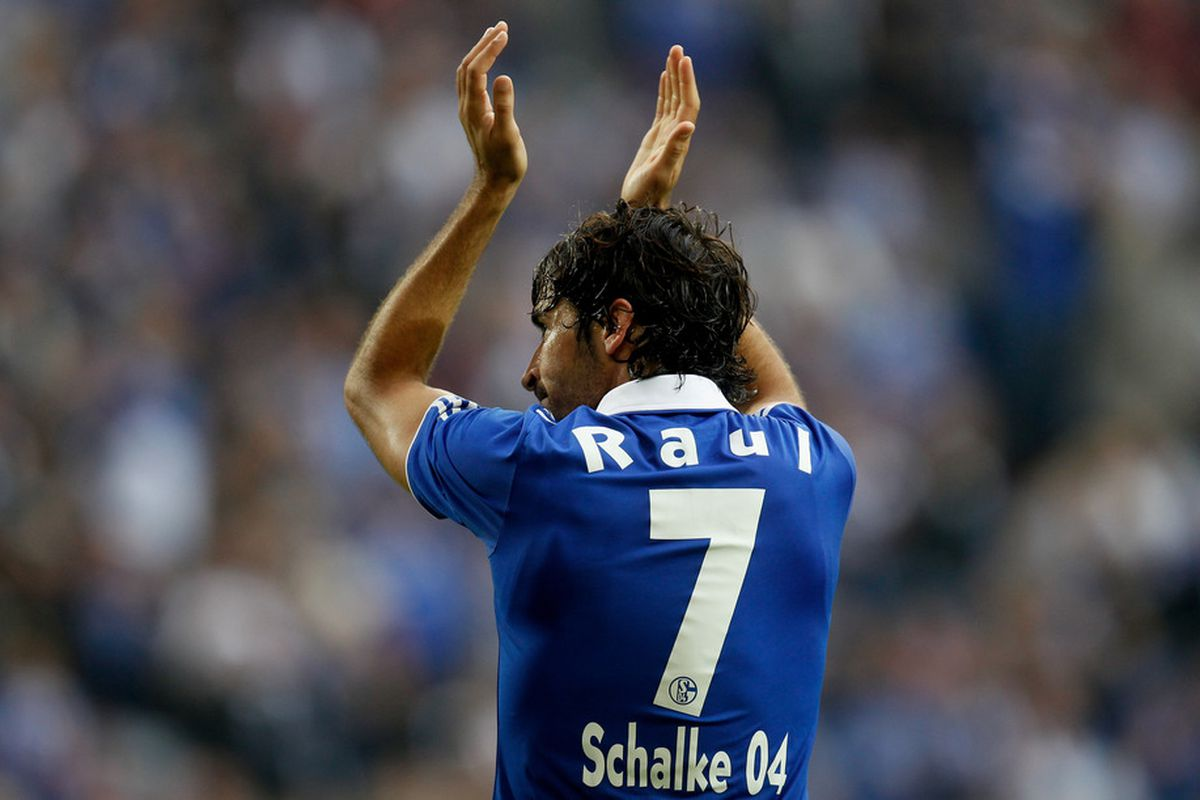 GELSENKIRCHEN, GERMANY - AUGUST 28:  (FILE PHOTO)  Raul: Indeed signs with Qatari club (Photo by Friedemann Vogel/Bongarts/Getty Images)