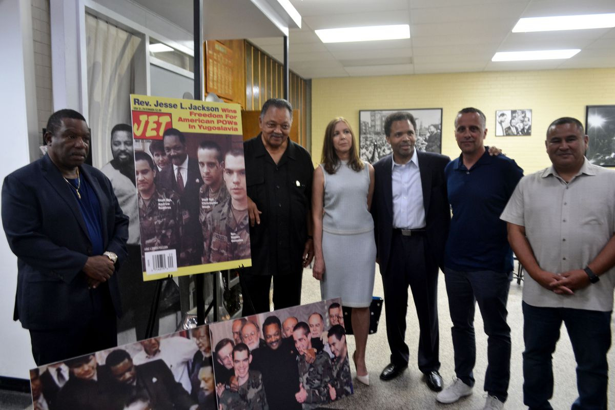 20 years later, Rev. Jackson reunites with servicemen he helped release from Belgrade