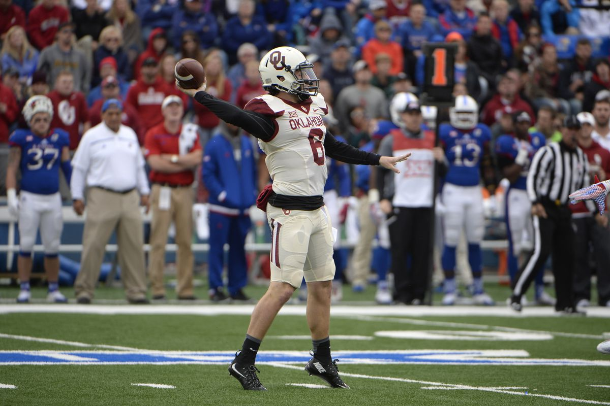Baker Mayfield and Oklahoma hope to put an end to Baylor's undefeated season