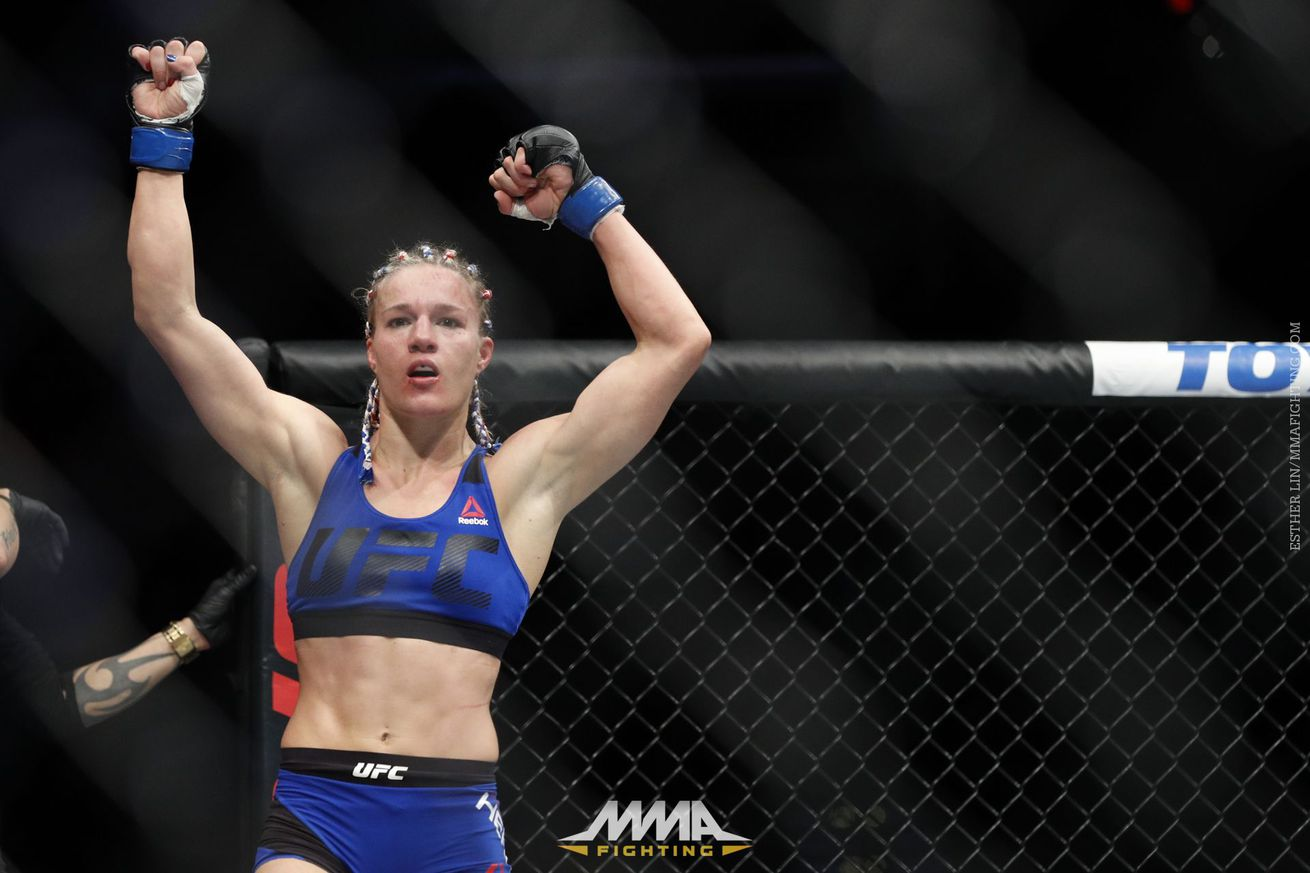 Felice Herrig: UFC isn't promoting me, because I'm not 'young and beautiful'