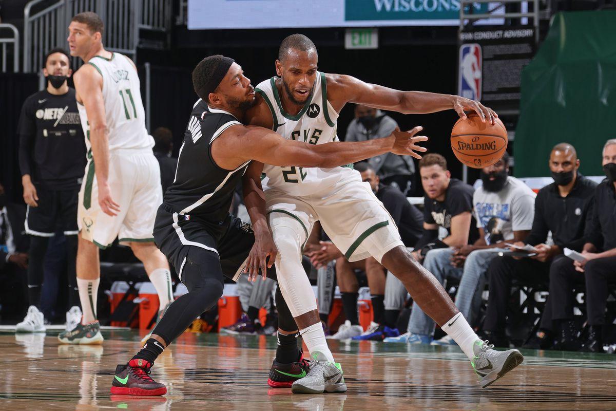 2021 NBA Playoffs - Brooklyn Nets v Milwaukee Bucks