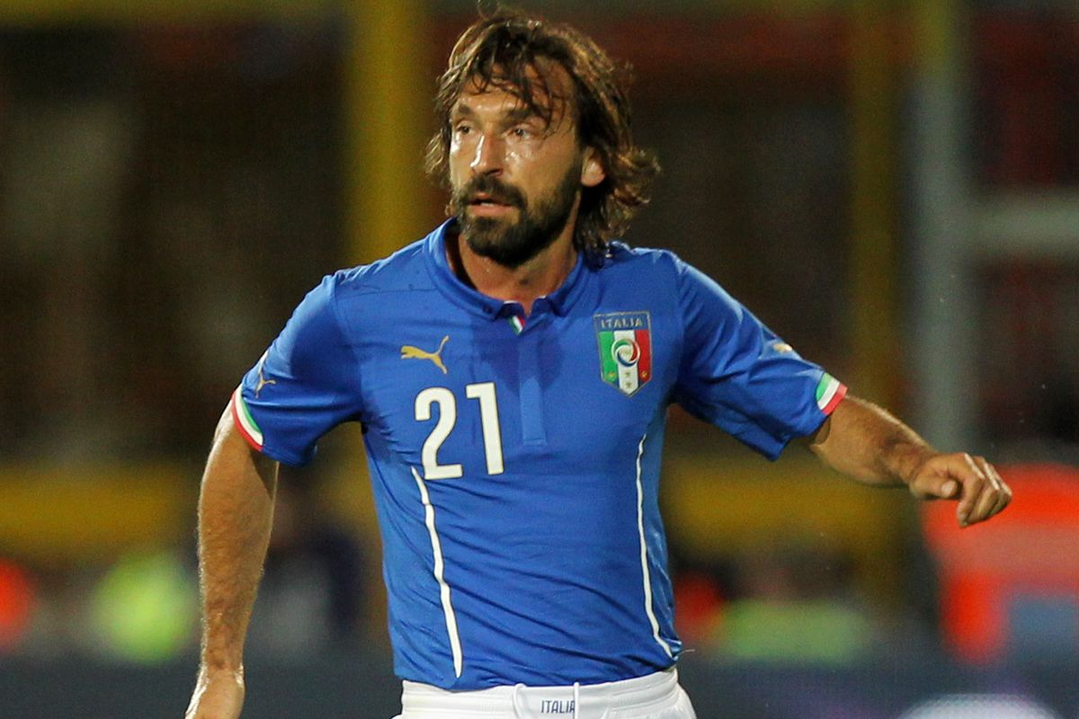 No, it's not the Hound. It's Andrea Pirlo, Italy's star midfielder.  But he'll slay you all the same.