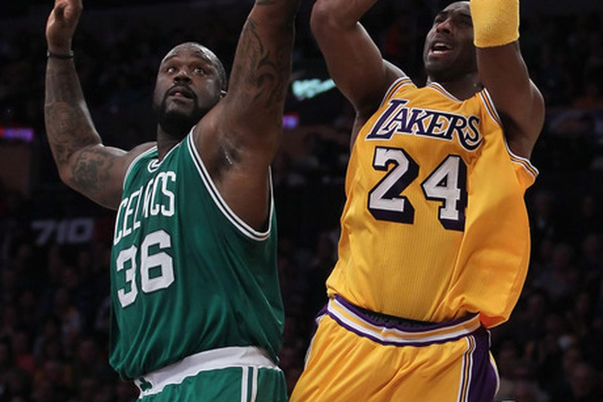 Maybe again in the Finals, Shaq.