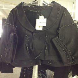 Comme des Garcons Leather Jacket, $986