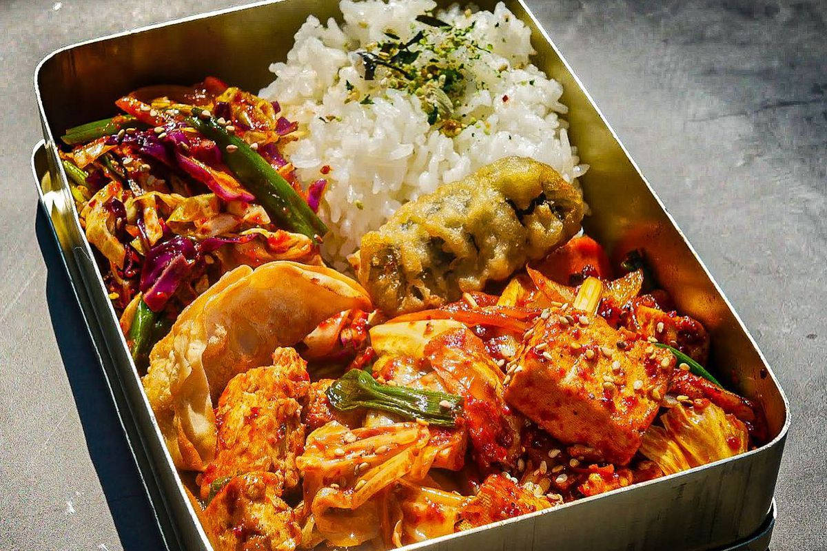 Seoulju's lunch box