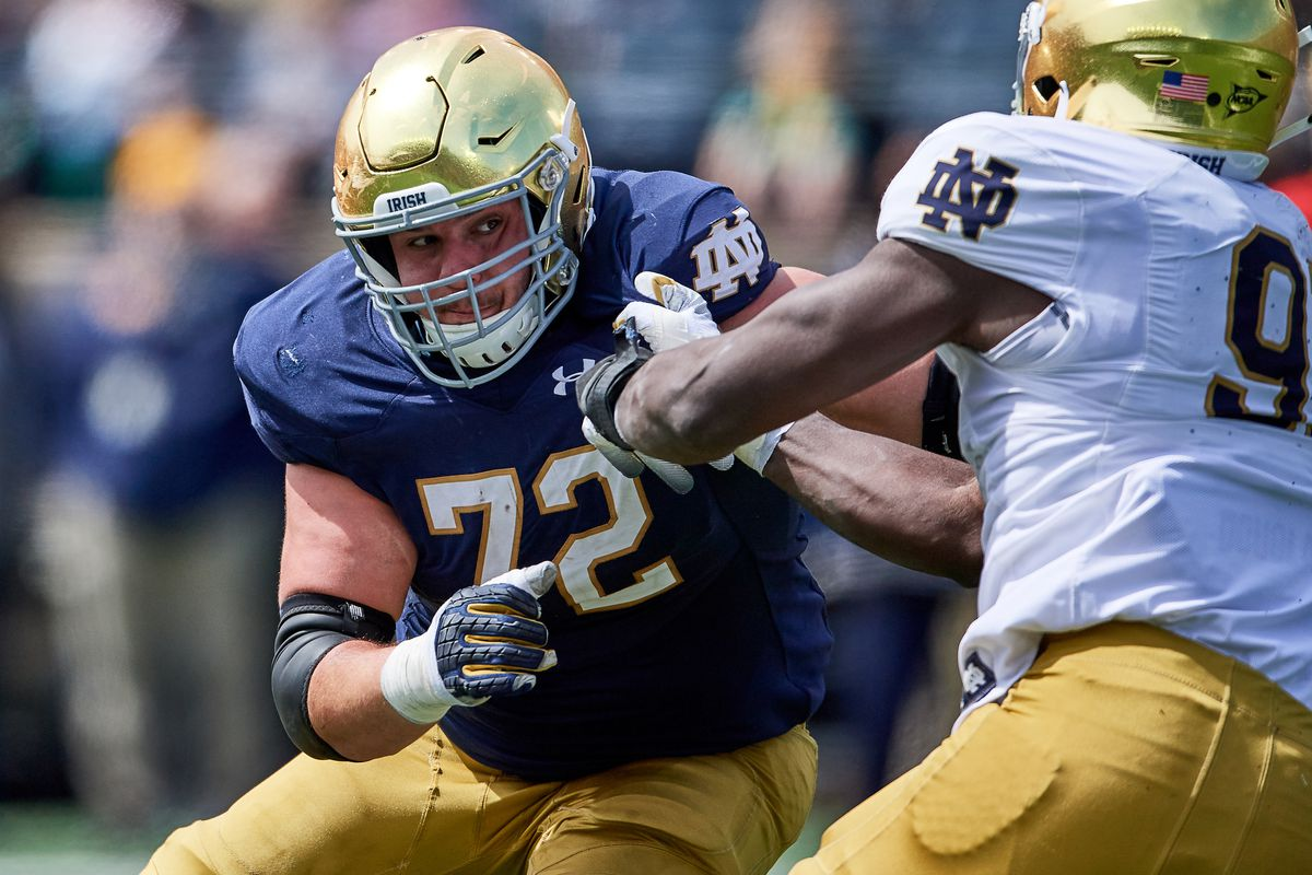 This Guy Plays Notre Dame Football: #72 Robert Hainsey, OT