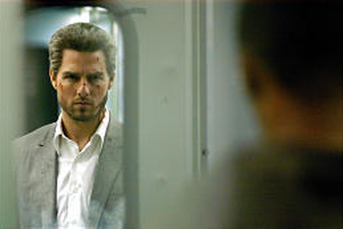 Our film critic's view on Tom Cruise's gray hair has drawn critical e-mail.