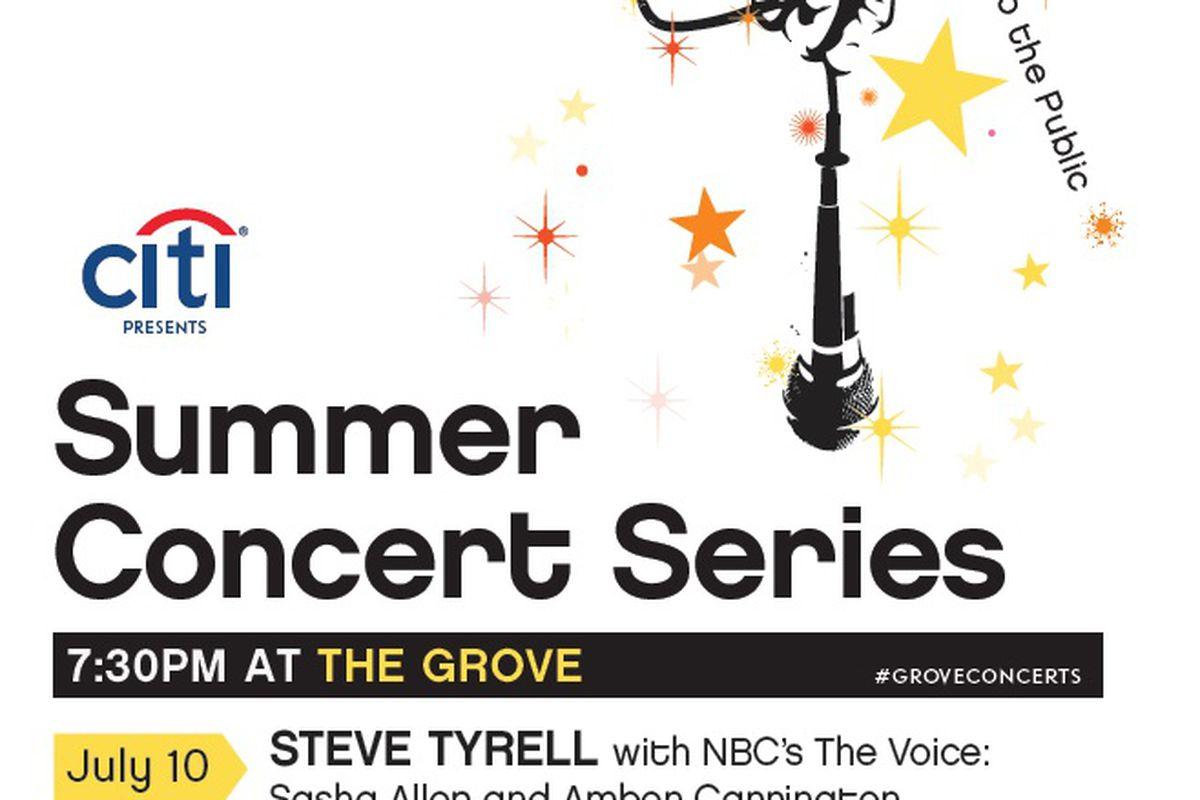 Flyer via The Grove