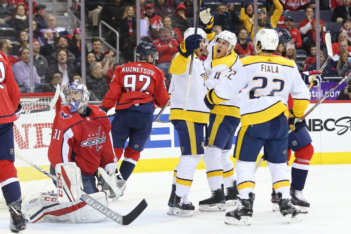 Capitals vs. Predators Recap  Despite Two-Goal Effort By Kuznetsov ... e7cf4ab64c5
