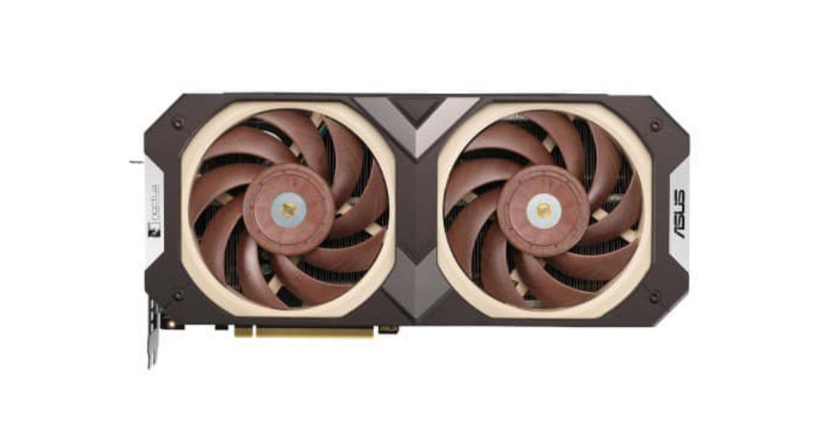 Rumored Noctua-equipped RTX 3070 appeared on Asus' Facebook page