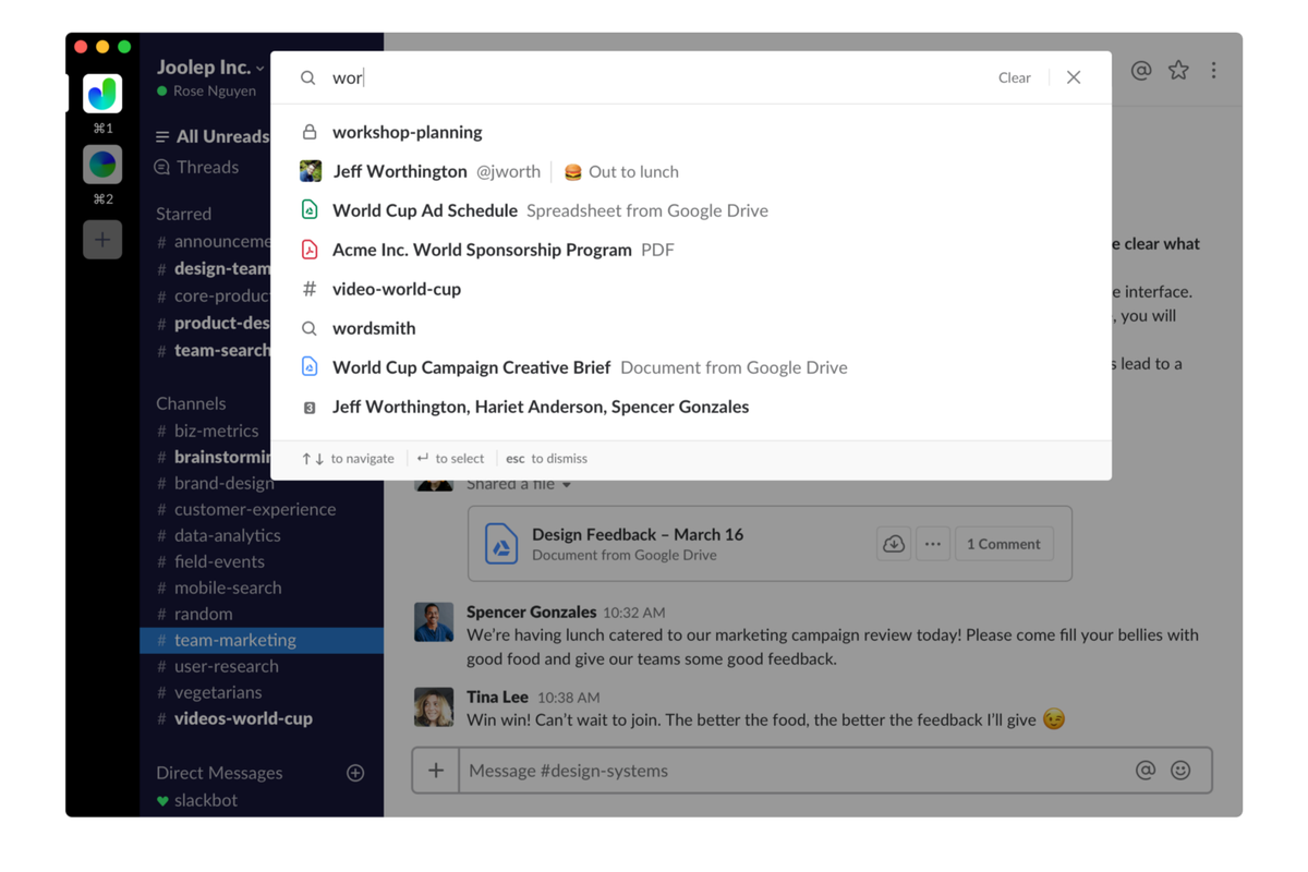 Slack is making its in-app search less awful - The Verge