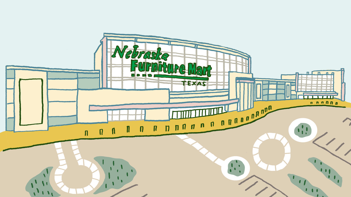 Inside Nebraska Furniture Mart Texas S Largest Furniture Store Curbed