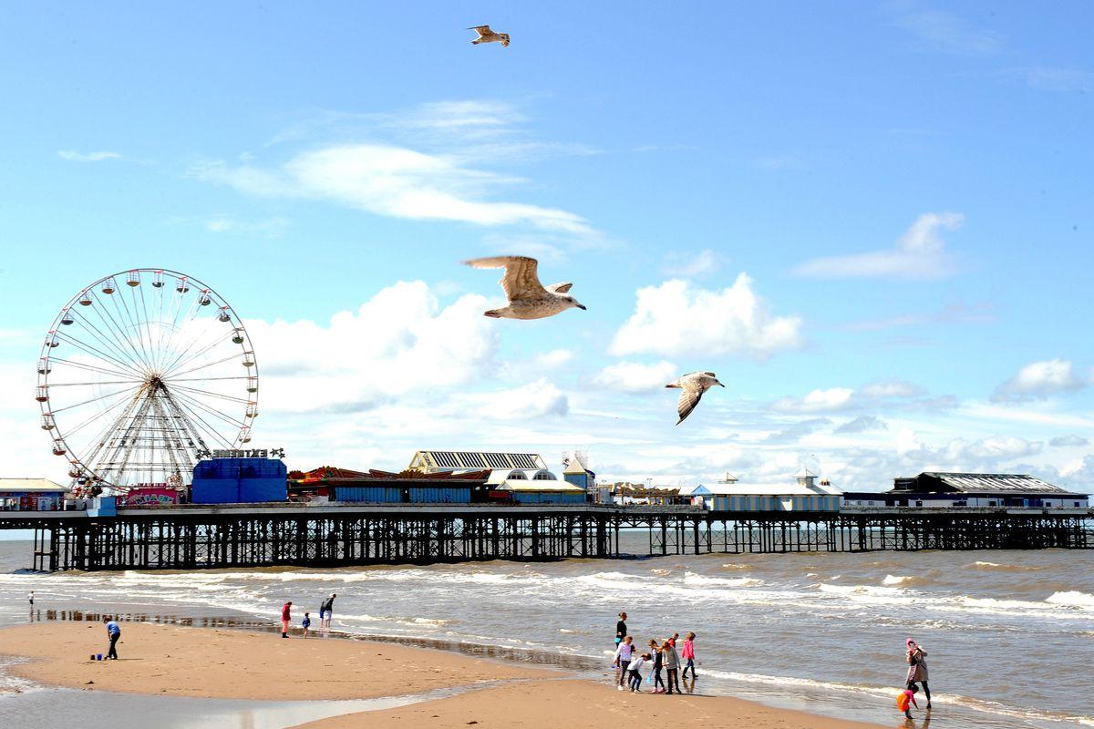 Blackpool Weather Scenes