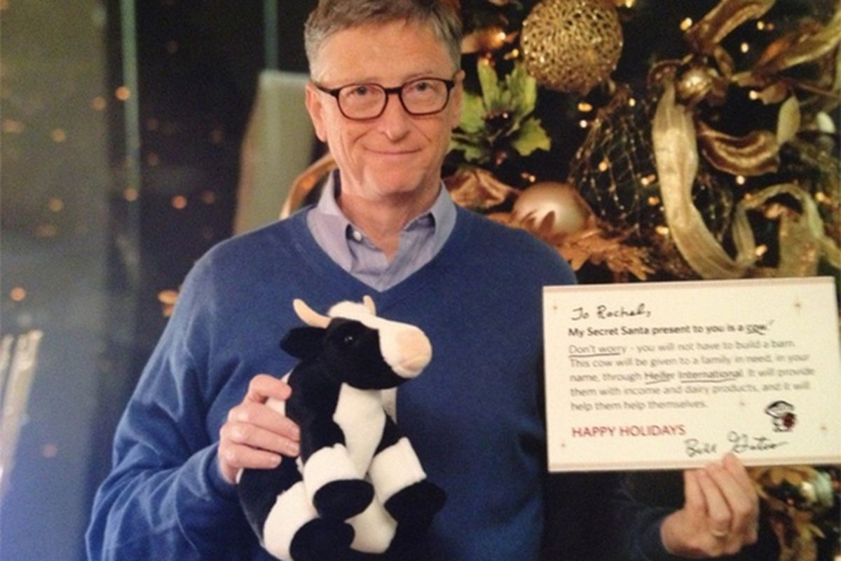 Bill gates is santa for one lucky reddit user the verge bill gates is santa for one lucky reddit user negle Image collections