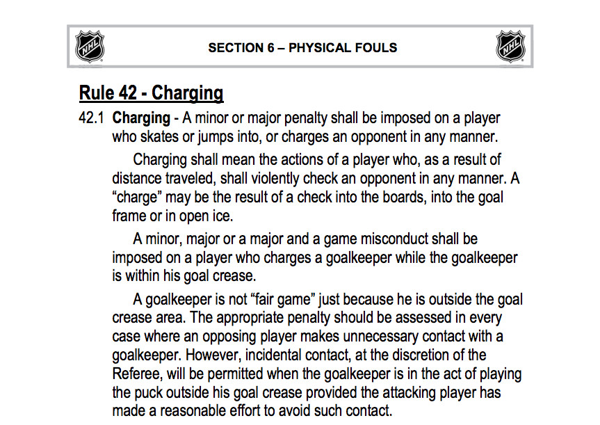 2014-2015 Charging Rule