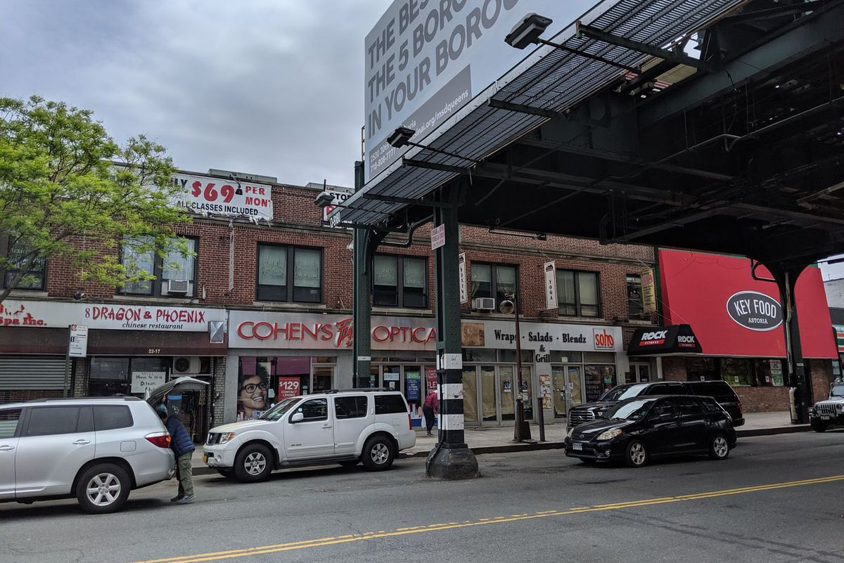 """Site of a planned retail complex to include a """"small format"""" Target, 31st Street and Ditmars Boulevard, Astoria."""