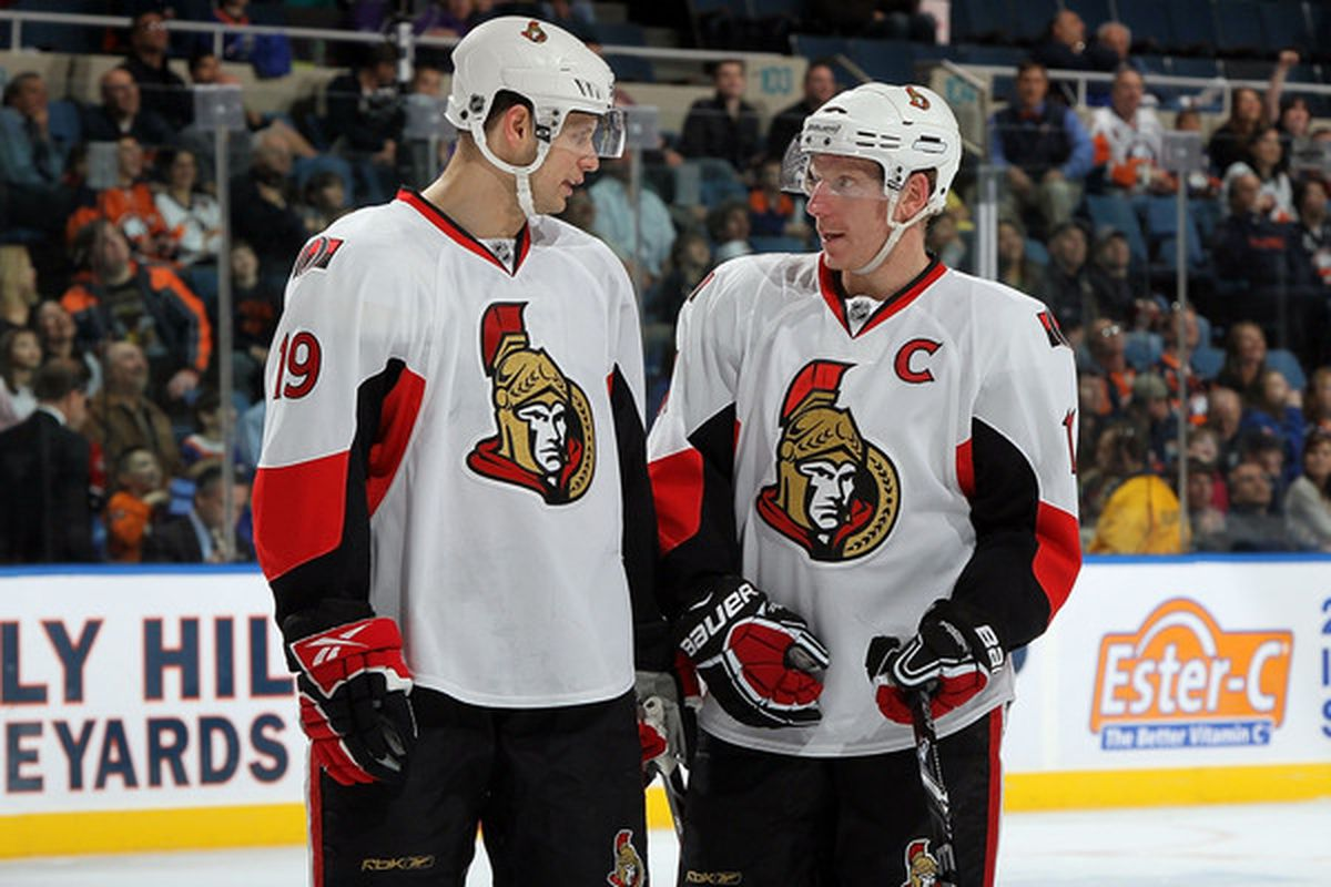 Will Jason Spezza choose to folllow Alfie's example when it comes to contracts, too?