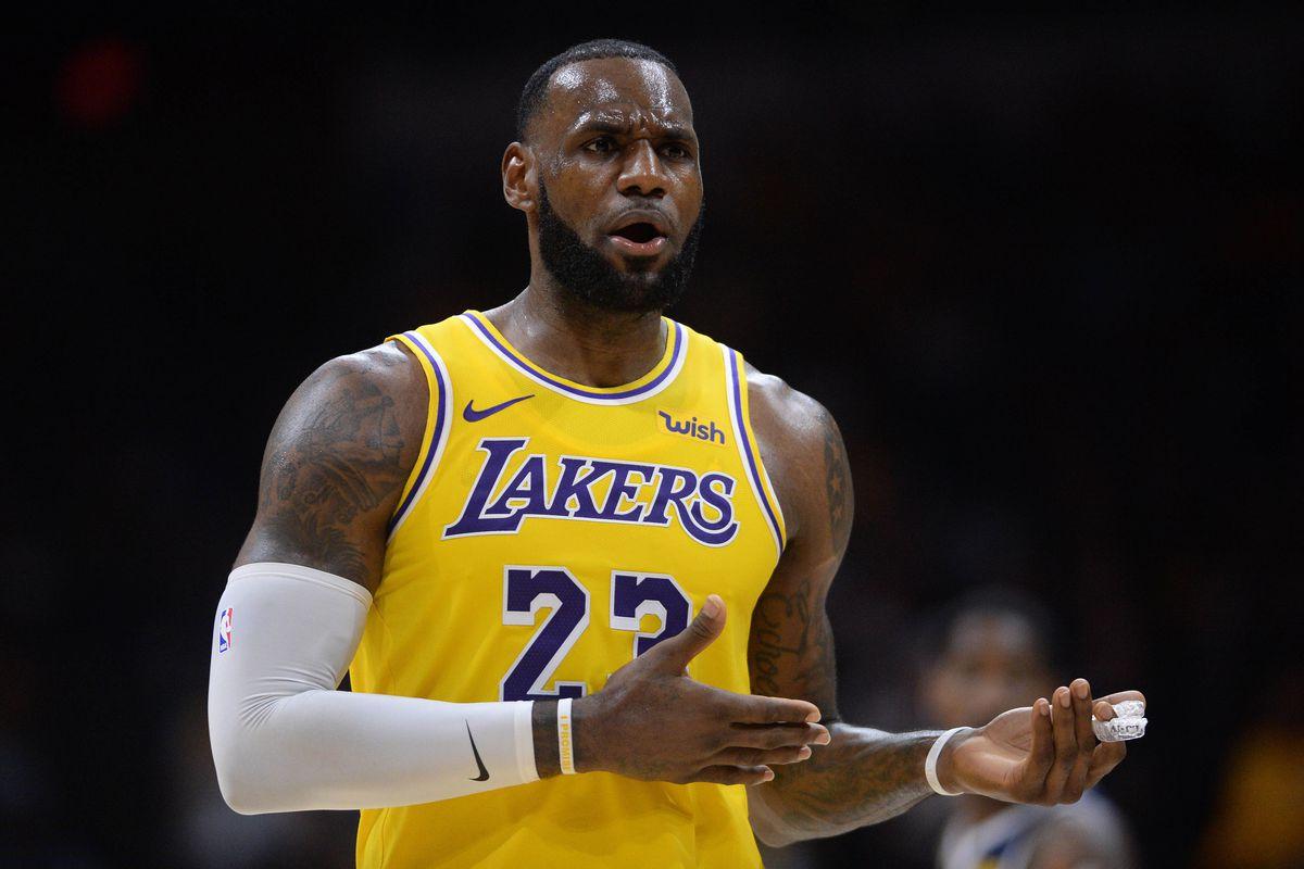 NBA: Preseason-Denver Nuggets at Los Angeles Lakers