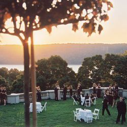 """<b>Wave Hill:</b> West 249th Street and Independence Avenue, The Bronx; <a href=""""http://www.wavehill.org/weddings-conferences/weddings/"""">book it here</a>. [<a href=""""http://www.wavehill.org/weddings-conferences/weddings/"""">Photo</a>]"""