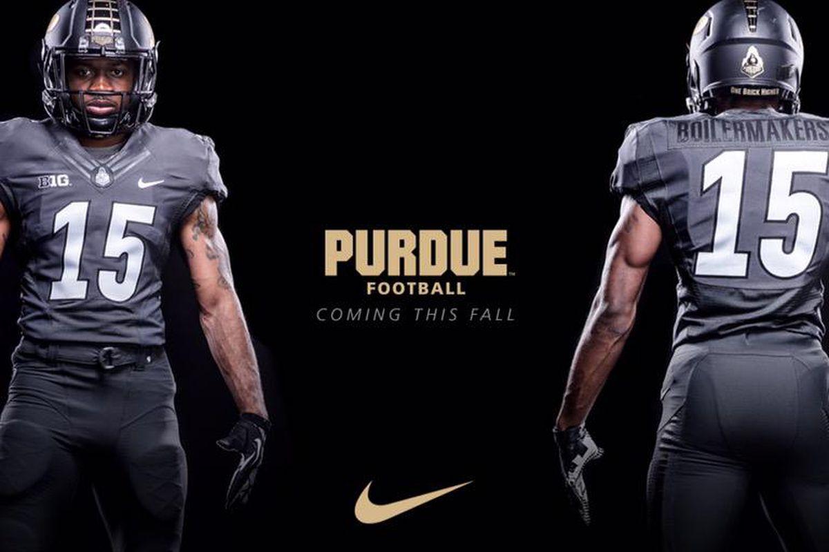 Purdue has new gray uniforms