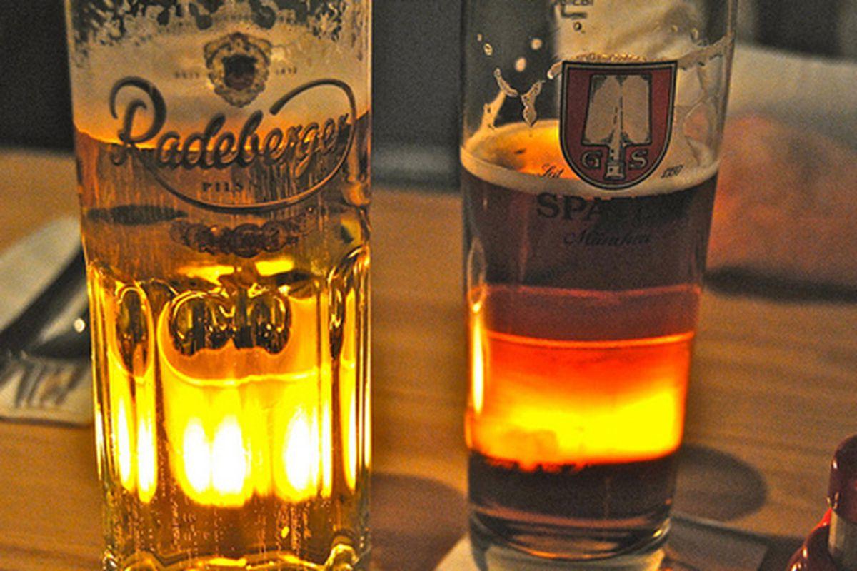 German brews at Walzwerk.