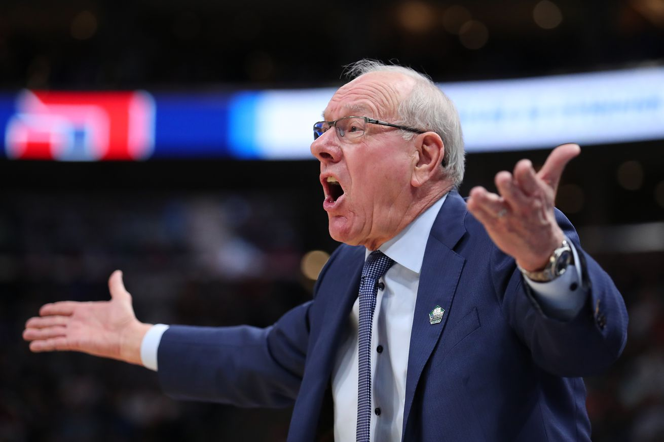 Jim Boeheim didn't share if he was practicing his opera