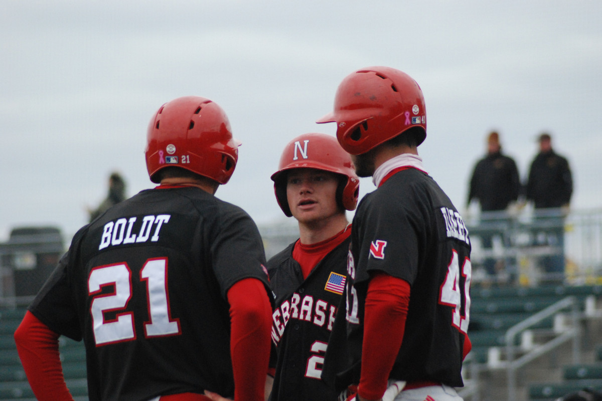 Ryan Boldt will look to continue his hot hitting as the Huskers go for the series victory.