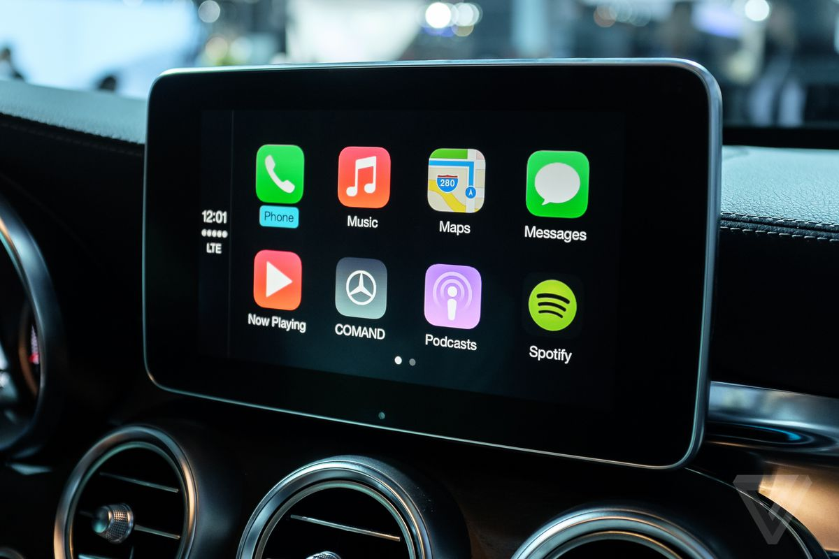 google play music now works with apple s carplay the verge. Black Bedroom Furniture Sets. Home Design Ideas