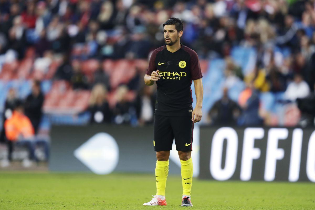Report Nolito to leave Manchester City for Sevilla Bitter and Blue