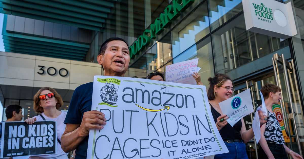 Whole Foods employees require Amazon to sever all ties with ICE and