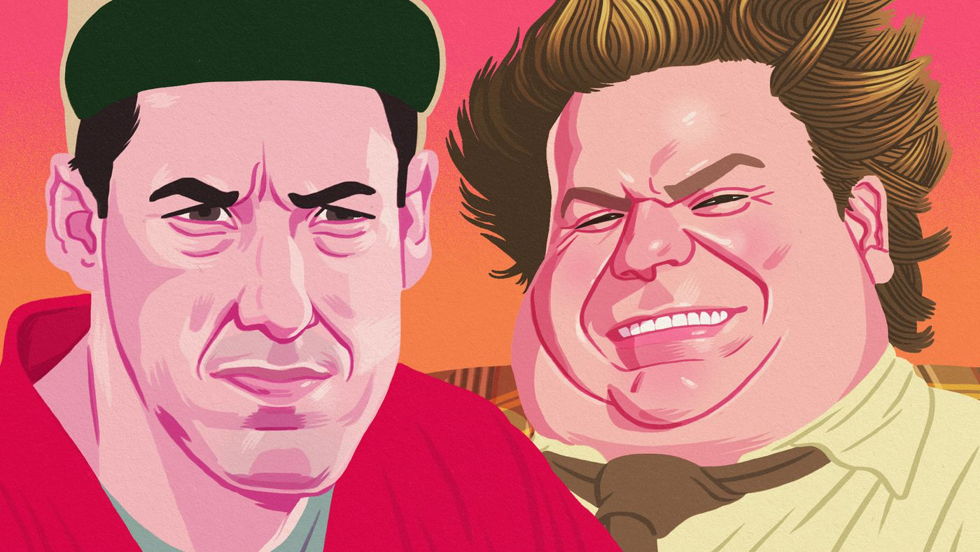 How Adam Sandler & Chris Farley Went From 'SNL' Bad Boys to Movie Stars