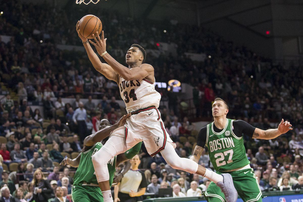NBA: Boston Celtics at Milwaukee Bucks