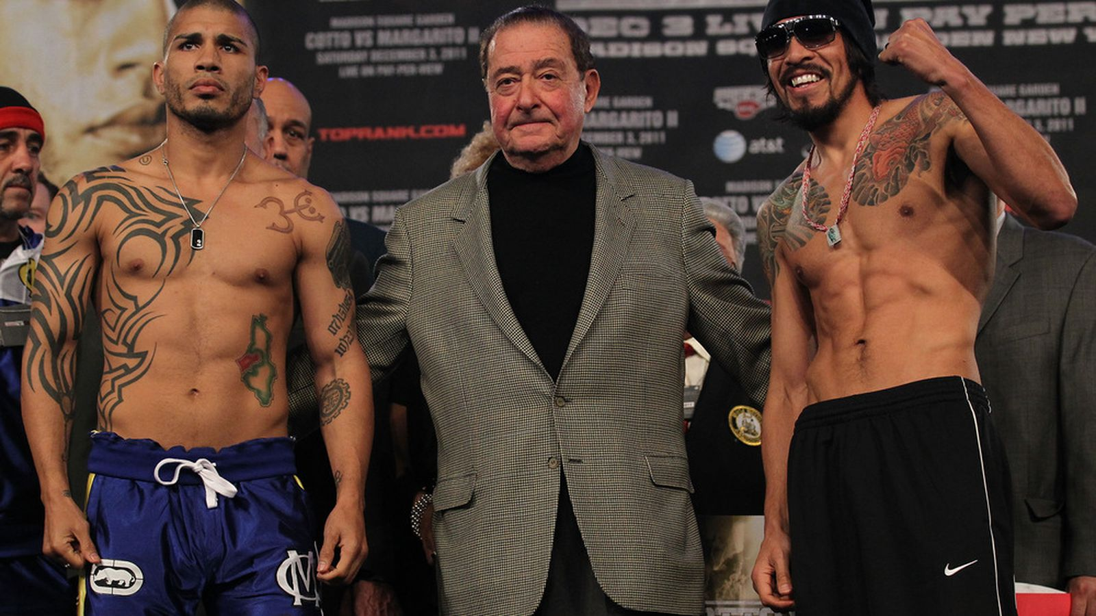 Cotto vs margarito 2 24 7 videos from hbo for Cotto new tattoo