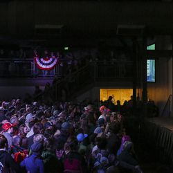 """Democratic National Committee Chairman Tom Perez speaks during the """"Come Together and Fight Back"""" tour at the Rail Event Center in Salt Lake City on Friday, April 21, 2017."""