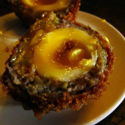"""Scotch Egg at The Breslin by <a href=""""https://www.flickr.com/photos/foodforfel/11021900455/in/pool-eater/"""">foodforfel"""