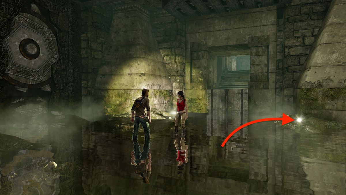 Uncharted 2: Among Thieves 'The City's Secret' treasure locations