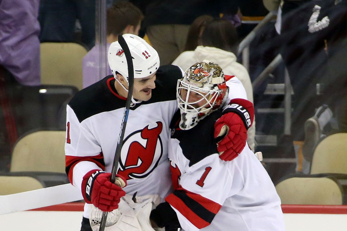 Boyle scored a natural hat trick and the Devils won big! Charles  LeClaire-USA TODAY Sports f80594e2e