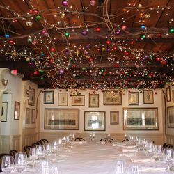 Want to feel festive head to these restaurants with elaborate 1789 aloadofball Images