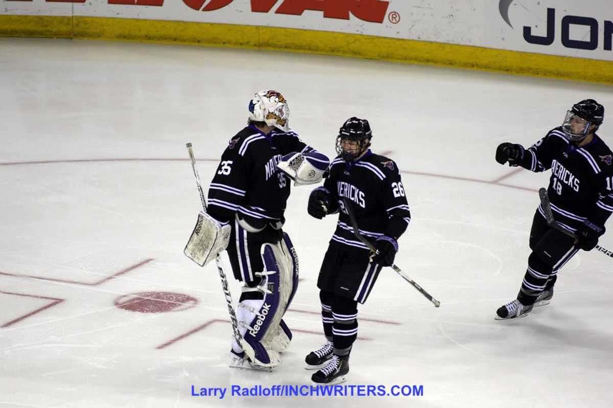 Minnesota State invades Schneider Arena for a pair of games this weekend against Providence College.